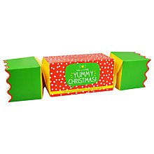Buy Happy Jackson Yummy Christmas Cracker, 200g Online at johnlewis.com