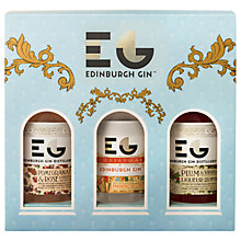 Buy Edinburgh Gin Winter Palace Christmas Liqueurs, 3x 20cl Online at johnlewis.com