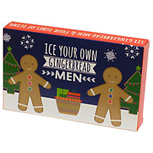 Buy Ice Your Own Gingerbread Men Kit, 172g Online at johnlewis.com