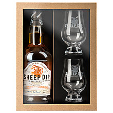 Buy Spencerfield Spirits Original Oldbury Sheep Dip Whisky and Glasses Set Online at johnlewis.com