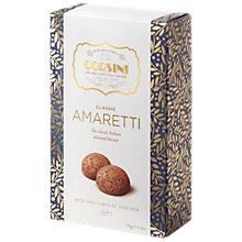 Buy Corsini Classic Amaretti Almond Biscuits Hard Box, 170g Online at johnlewis.com