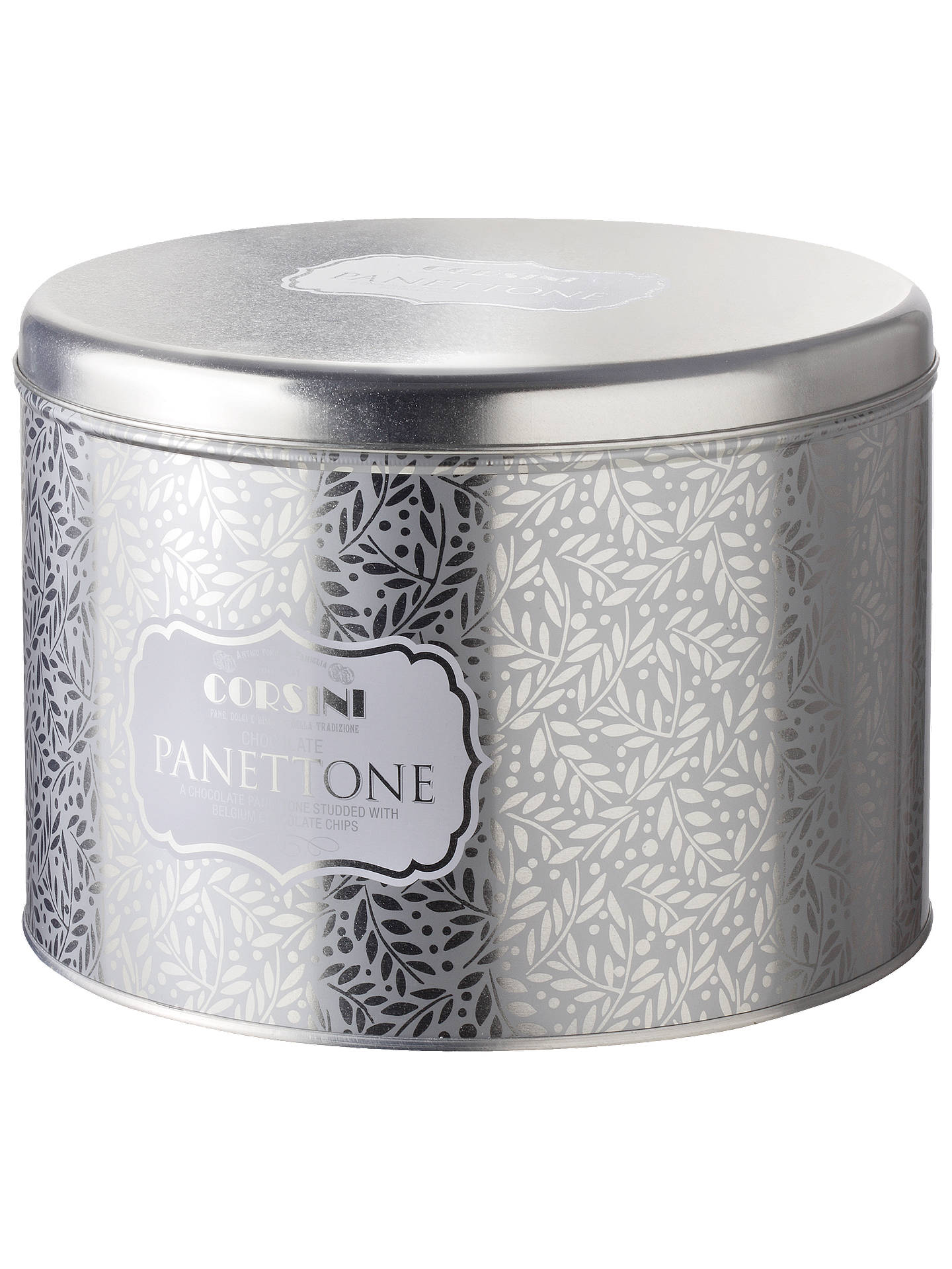 Corsini Silver Tin Chocolate Panettone 1kg At John Lewis