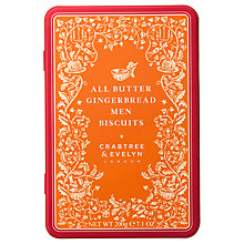 Buy Crabtree &  Evelyn All Butter Gingerbread Men Biscuits, 200g Online at johnlewis.com