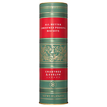 Buy Crabtree &  Evelyn All Butter Christmas Pudding Biscuits, 195g Online at johnlewis.com