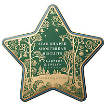 Buy Crabtree &  Evelyn Star Shaped Shortbread Biscuits, 110g Online at johnlewis.com