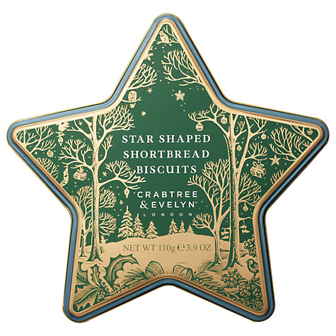 Crabtree & Evelyn Star Shaped Shortbread
