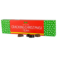 Buy Happy Jackson Cracking Christmas Chocolate Selection, 200g Online at johnlewis.com