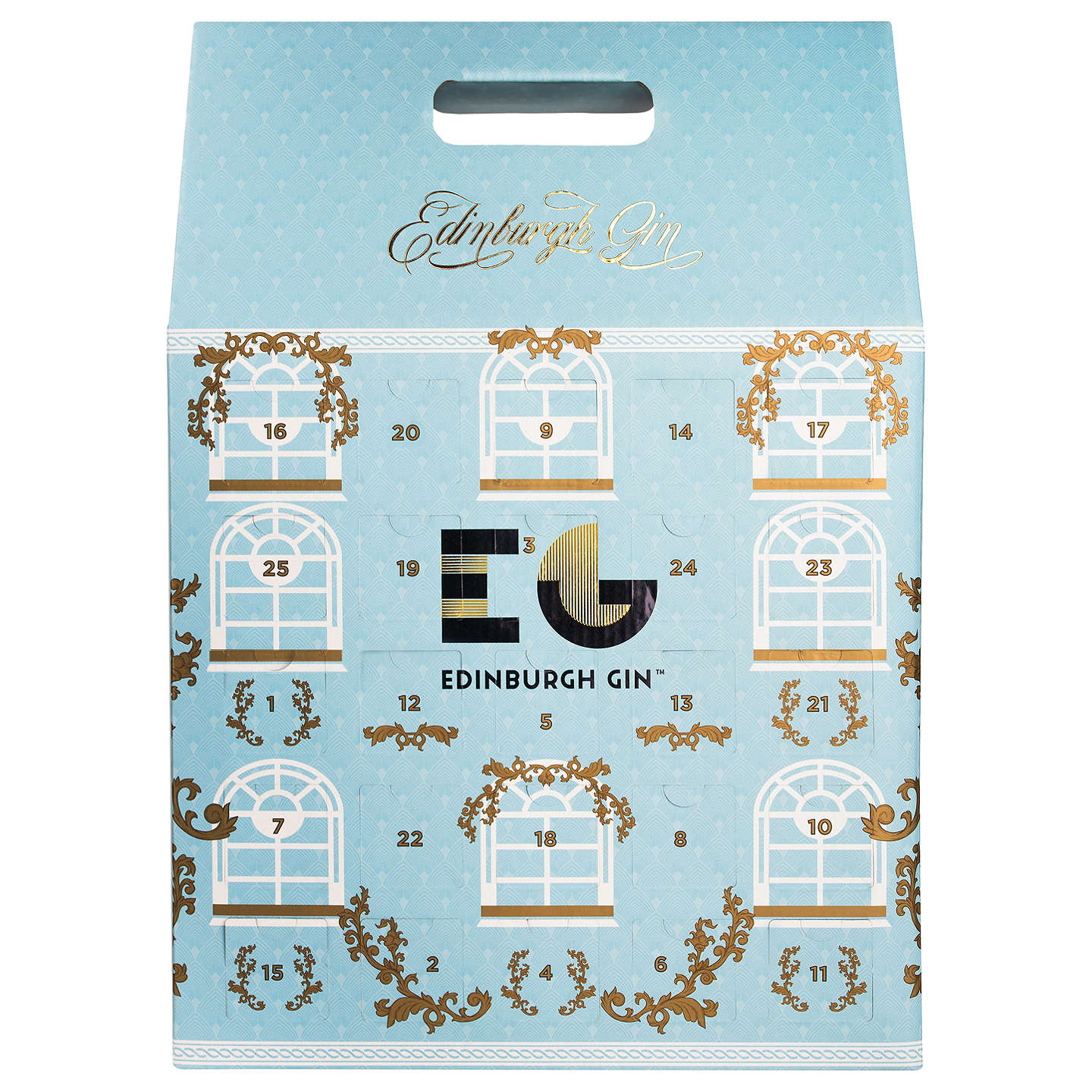 BuyEdinburgh Gin Advent Calendar, 5cl, Pack of 25 Online at johnlewis.com