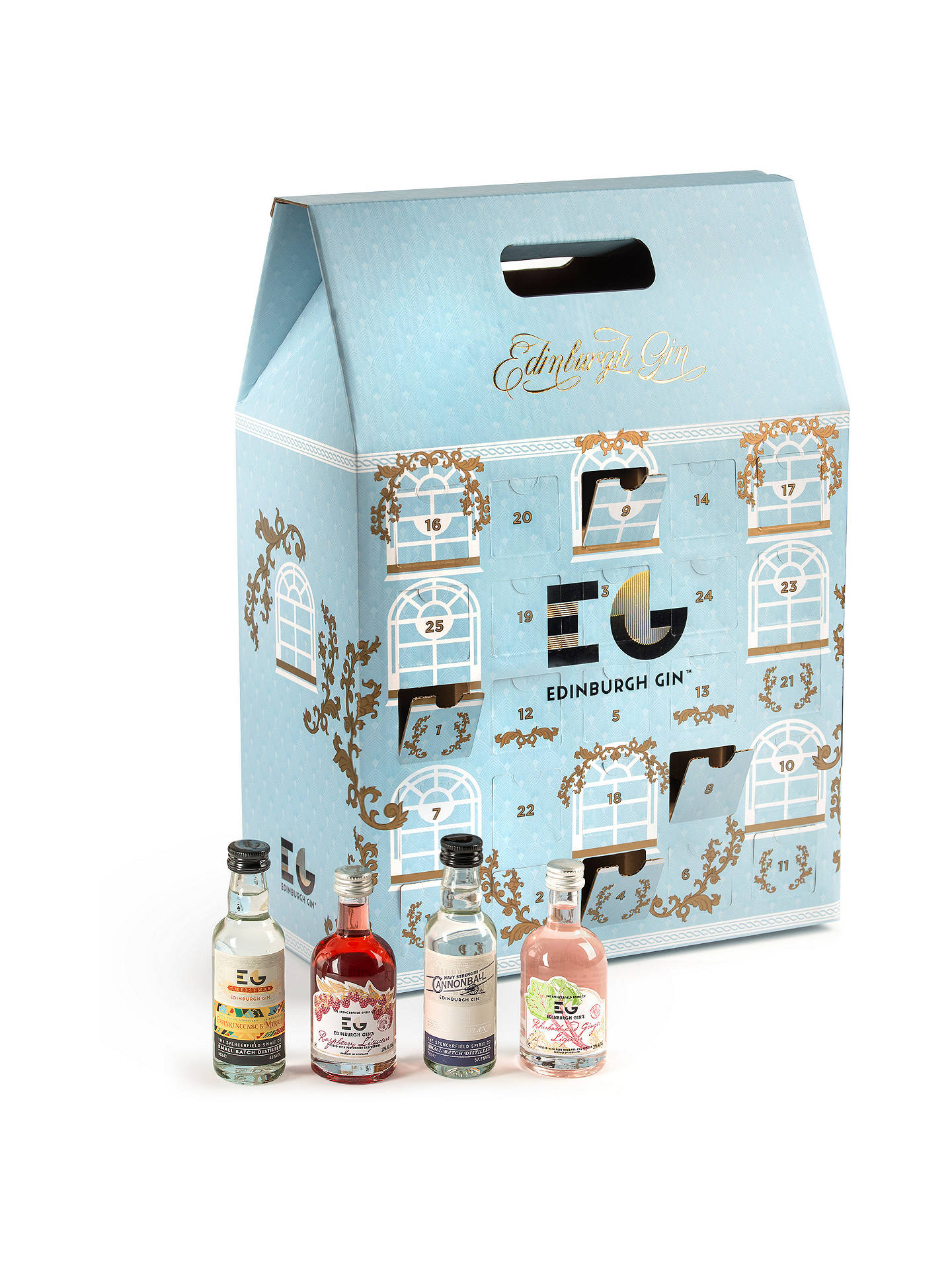 Buy Edinburgh Gin Advent Calendar, 5cl, Pack of 25 Online at johnlewis.com
