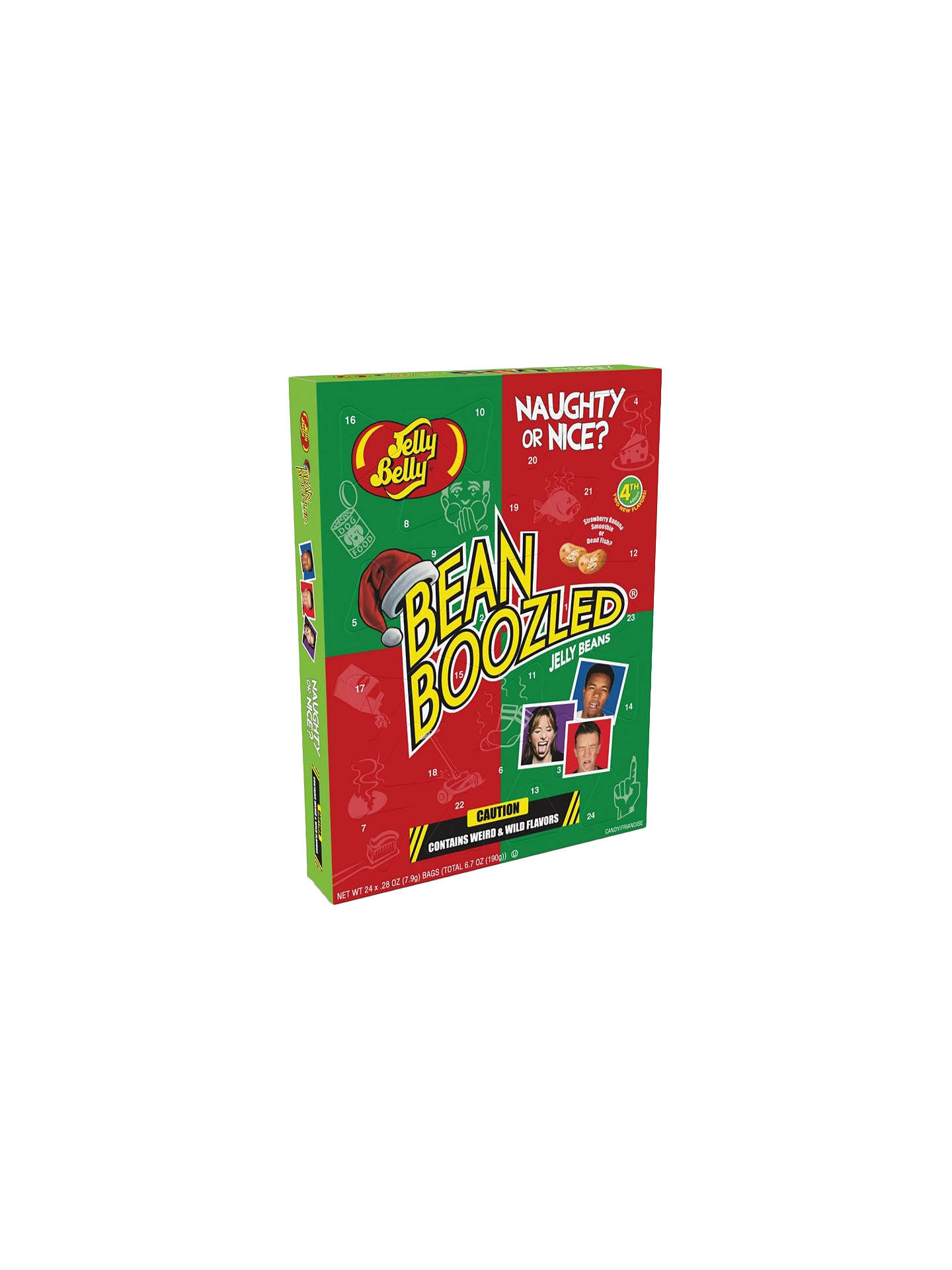 BuyJelly Belly Beanboozled Advent Calendar, 190g Online at johnlewis.com