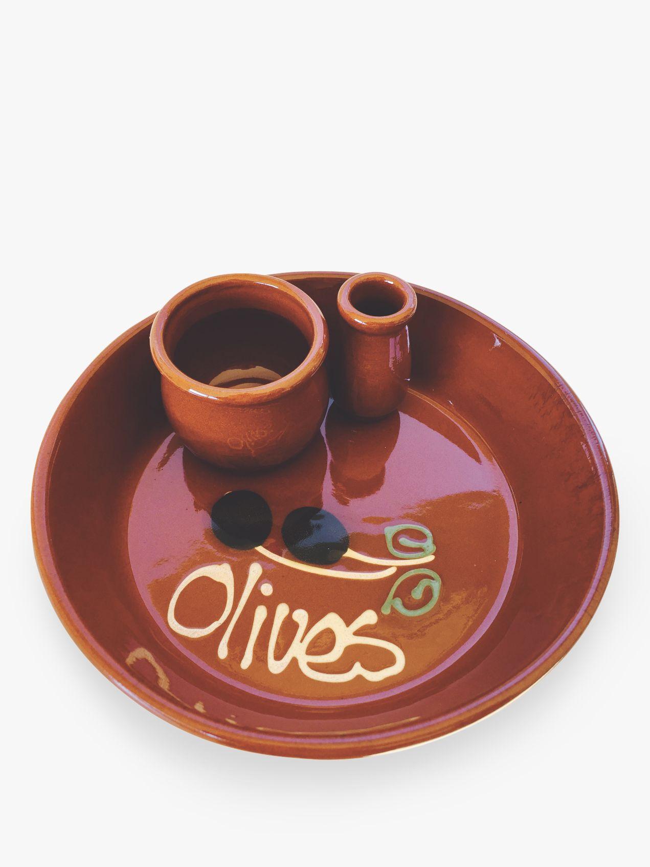 Regas Regas Olive Dish, Dia.15cm