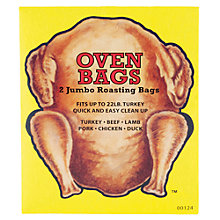Buy Eddingtons Turkey Roasting Bags, Pack of 2 Online at johnlewis.com