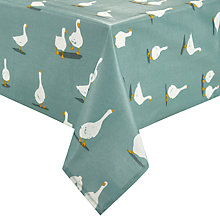 Buy John Lewis Country Geese Wipe Clean Tablecloth Online at johnlewis.com