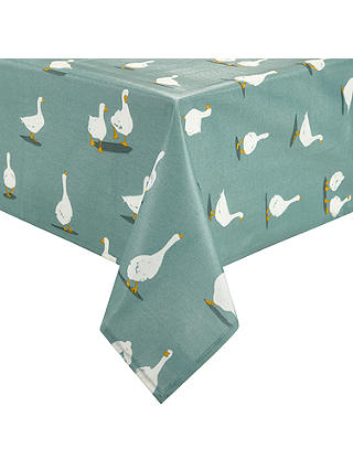 Buy John Lewis & Partners Country Geese Wipeable Tablecloth, L180 x W140cm Online at johnlewis.com