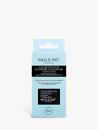 Nails Inc Lacquer Lock Top Coat, 14ml