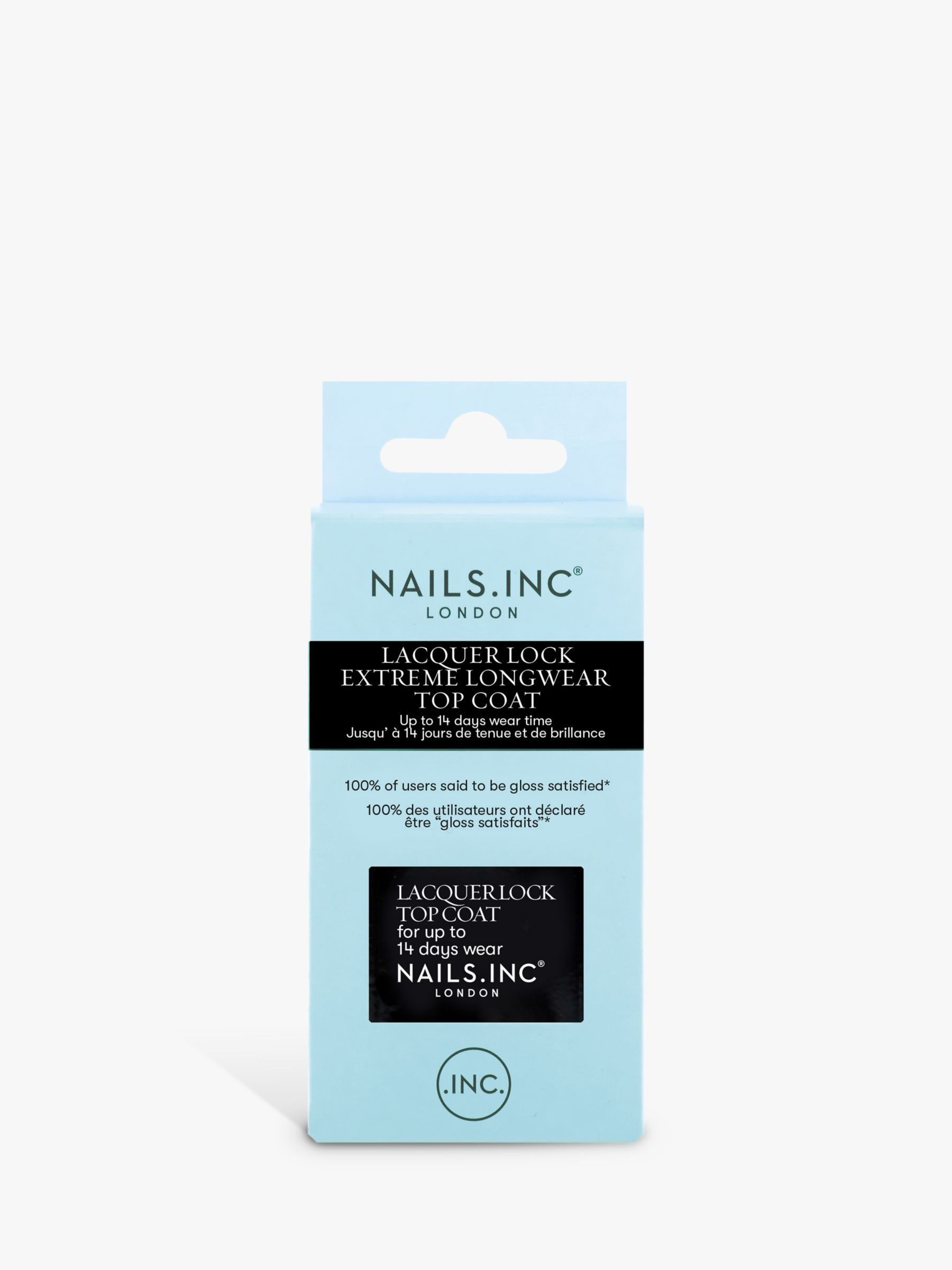 Nails Inc Nails Inc Lacquer Lock Top Coat, 14ml