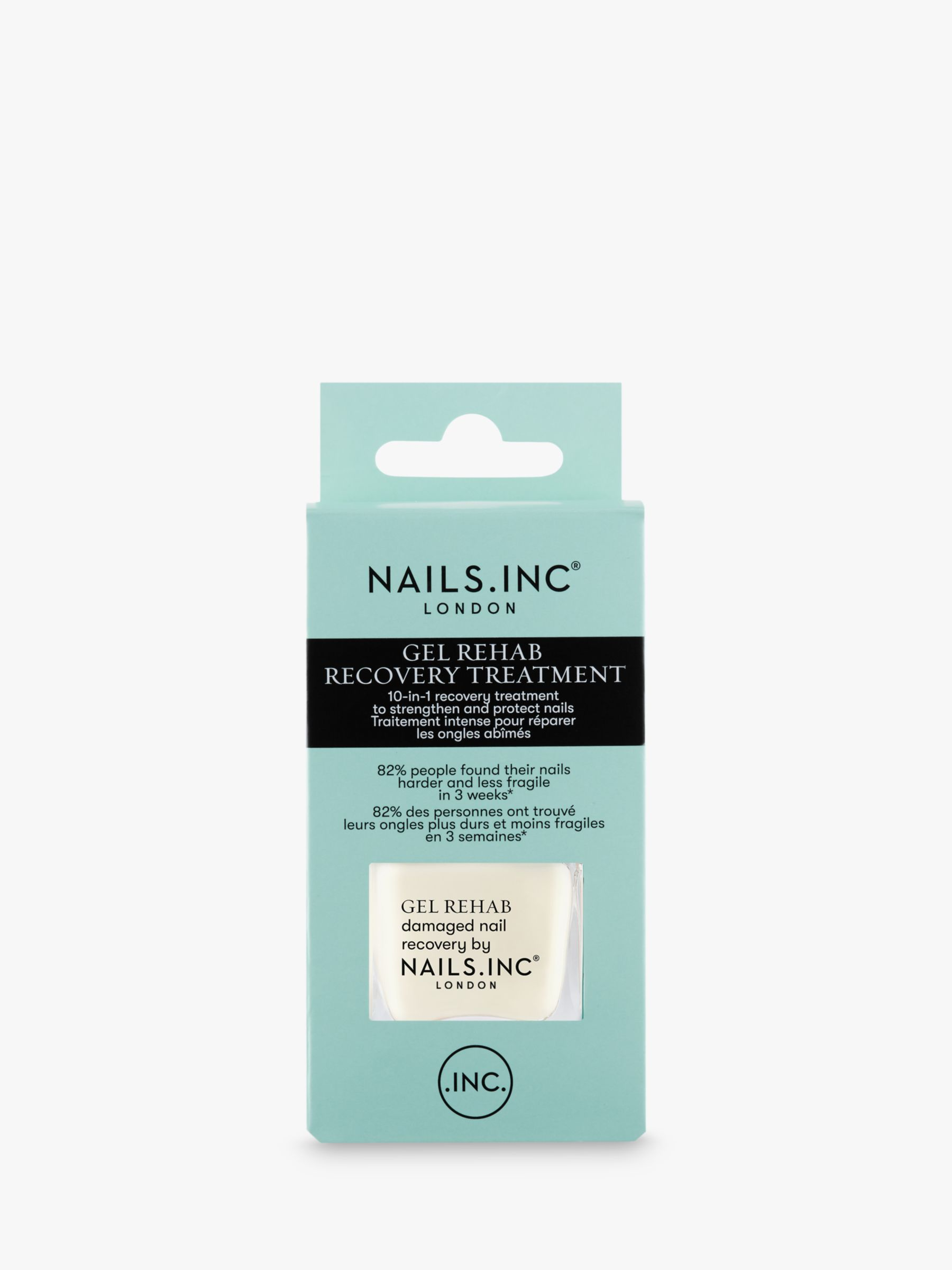 Nails Inc Nails Inc Gel Rehab Treatment & Base Coat, 14ml