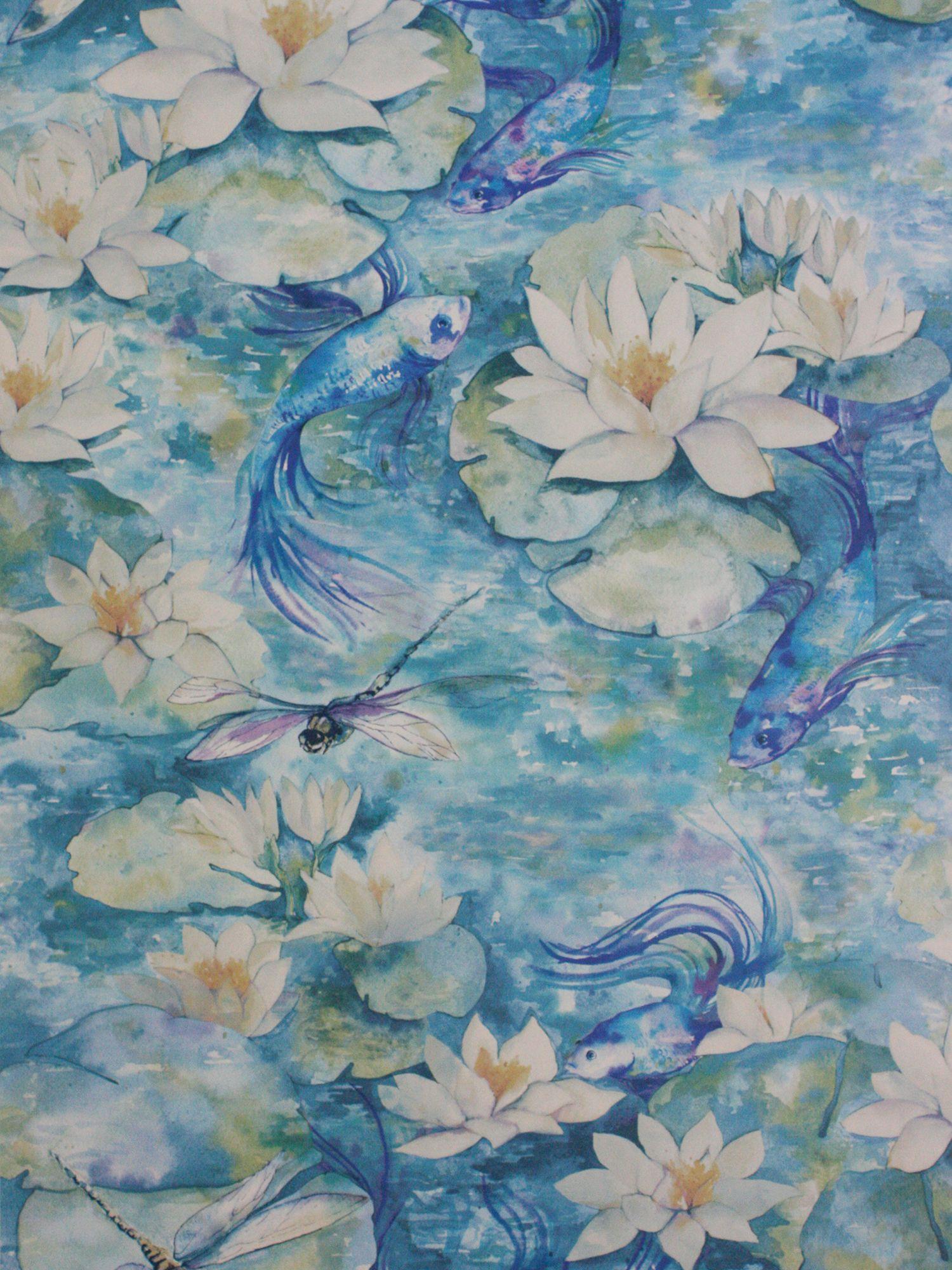 Matthew Williamson Matthew Williamson Water Lilly Wallpaper