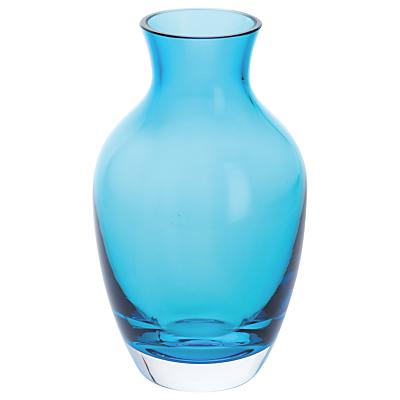Dartington Crystal Amphora Vase, Small, Teal