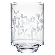 Buy MissPrint Saplings Hurricane Lamp with Candle, Clear/Decorative Online at johnlewis.com