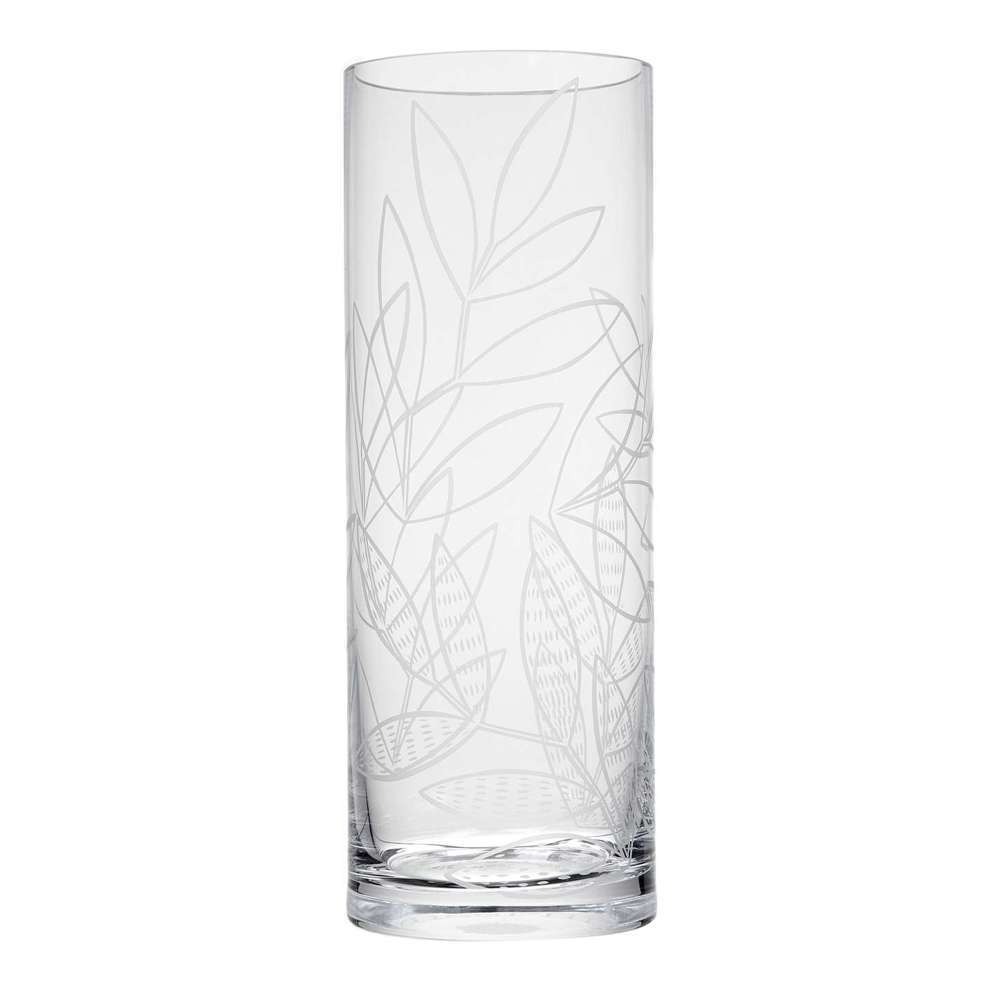 vase organic products beaumont clear large glass