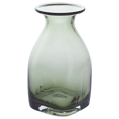 Dartington Crystal Finbarr Bottle, Olive, H18cm