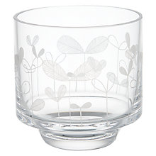 Buy MissPrint Saplings Glass Votive, Clear/Decorative Online at johnlewis.com