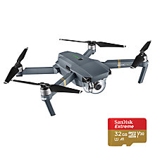 Buy DJI Mavic Pro Combo Kit + SD Card Online at johnlewis.com