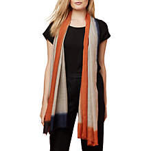 Buy East Ombre Border Scarf, Multi Online at johnlewis.com