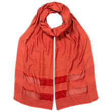 Buy East Slinky Scarf, Ginger Online at johnlewis.com