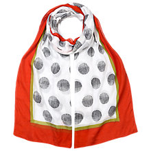 Buy East Circle Print Scarf, Multi Online at johnlewis.com