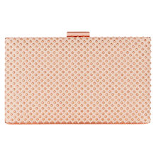 Buy Coast Selma Studded Box Bag, Blush Online at johnlewis.com