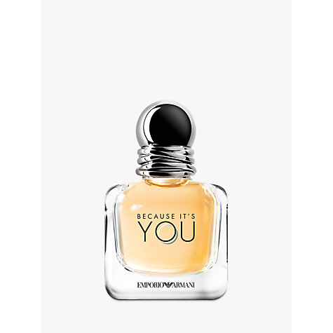 Buy Emporio Armani Because It's You Eau de Parfum Online at johnlewis.com