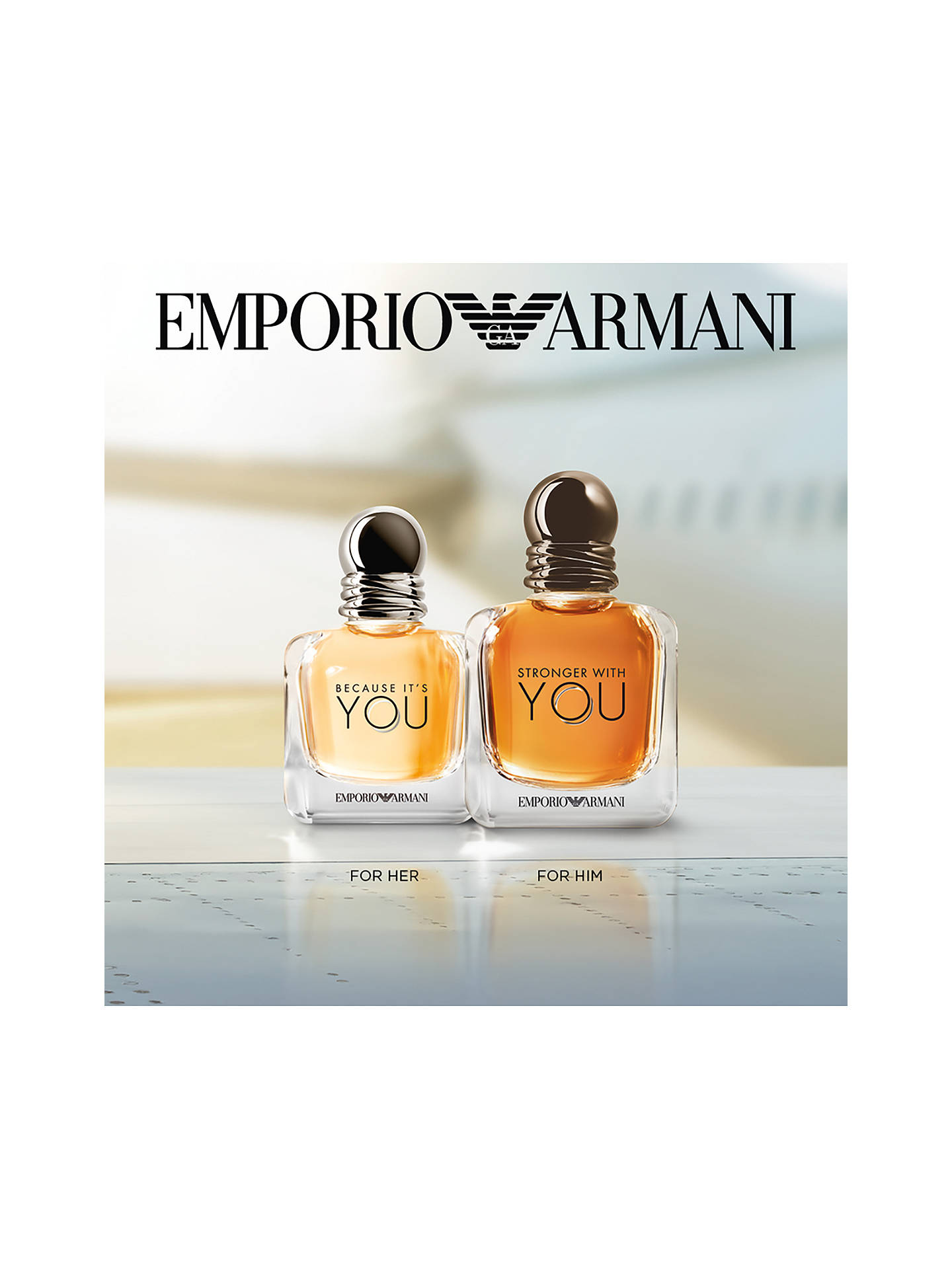 85d48eed00 Buy Emporio Armani Because It's You Eau de Parfum, 30ml Online at  johnlewis. ...