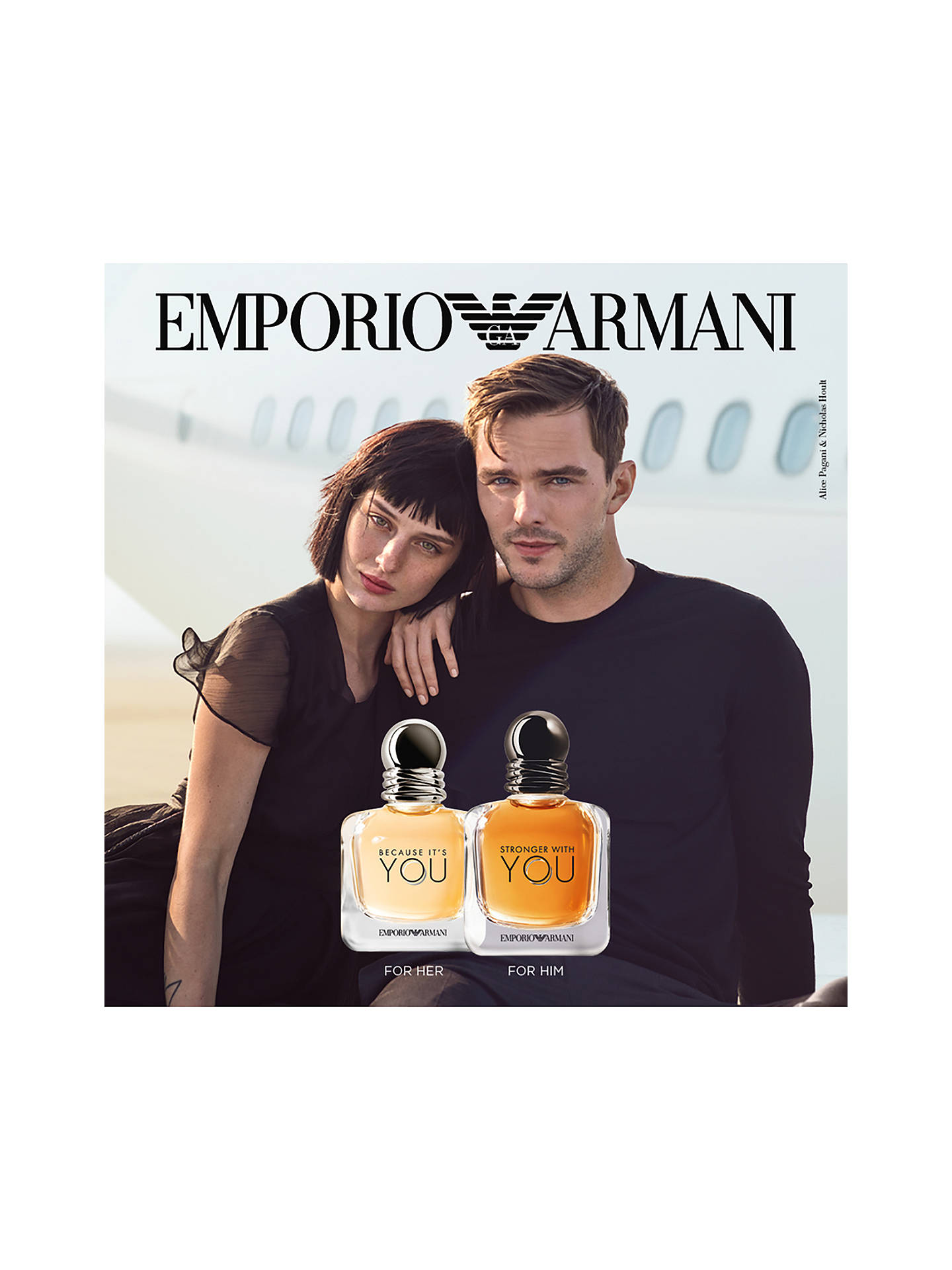 Lewisamp; John At Armani Because You Eau De Parfum It's Partners Emporio pMVqzSU