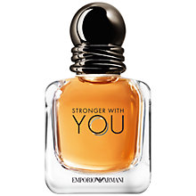 Buy Emporio Armani Stronger With You For Men Eau de Toilette Online at johnlewis.com