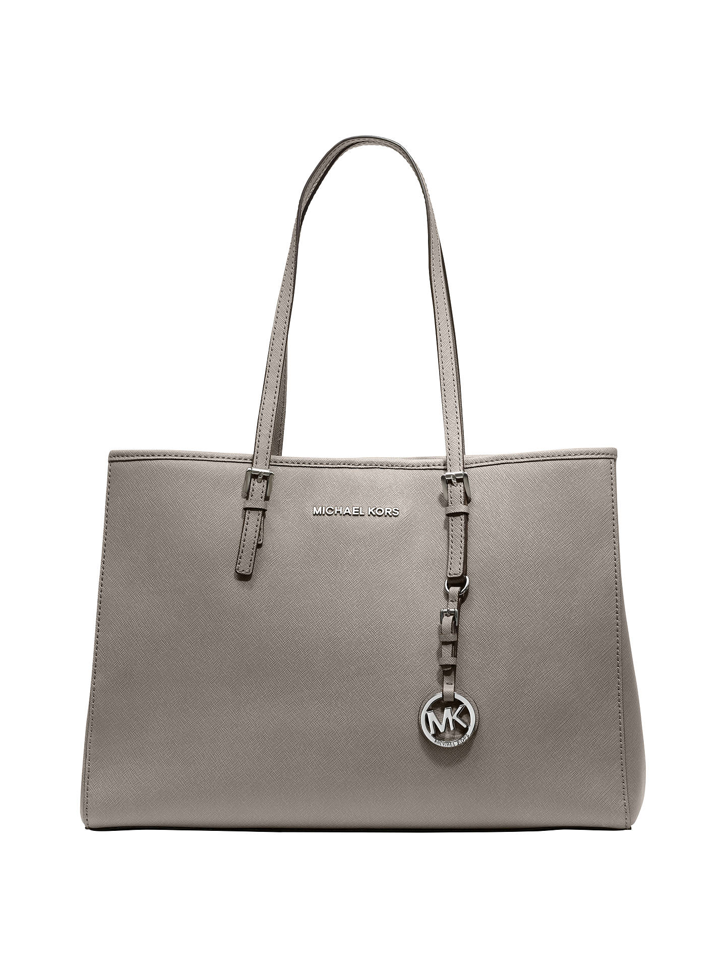 6a2fb6fde59 MICHAEL Michael Kors Jet Set Travel East/West Large Leather Tote Bag ...