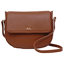 Buy Tula Originals Leather Medium Curved Across Body Bag Online at johnlewis.com