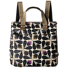 Buy Orla Kiely Matte Laminated Sycamore Seed Backpack, Multi Online at johnlewis.com