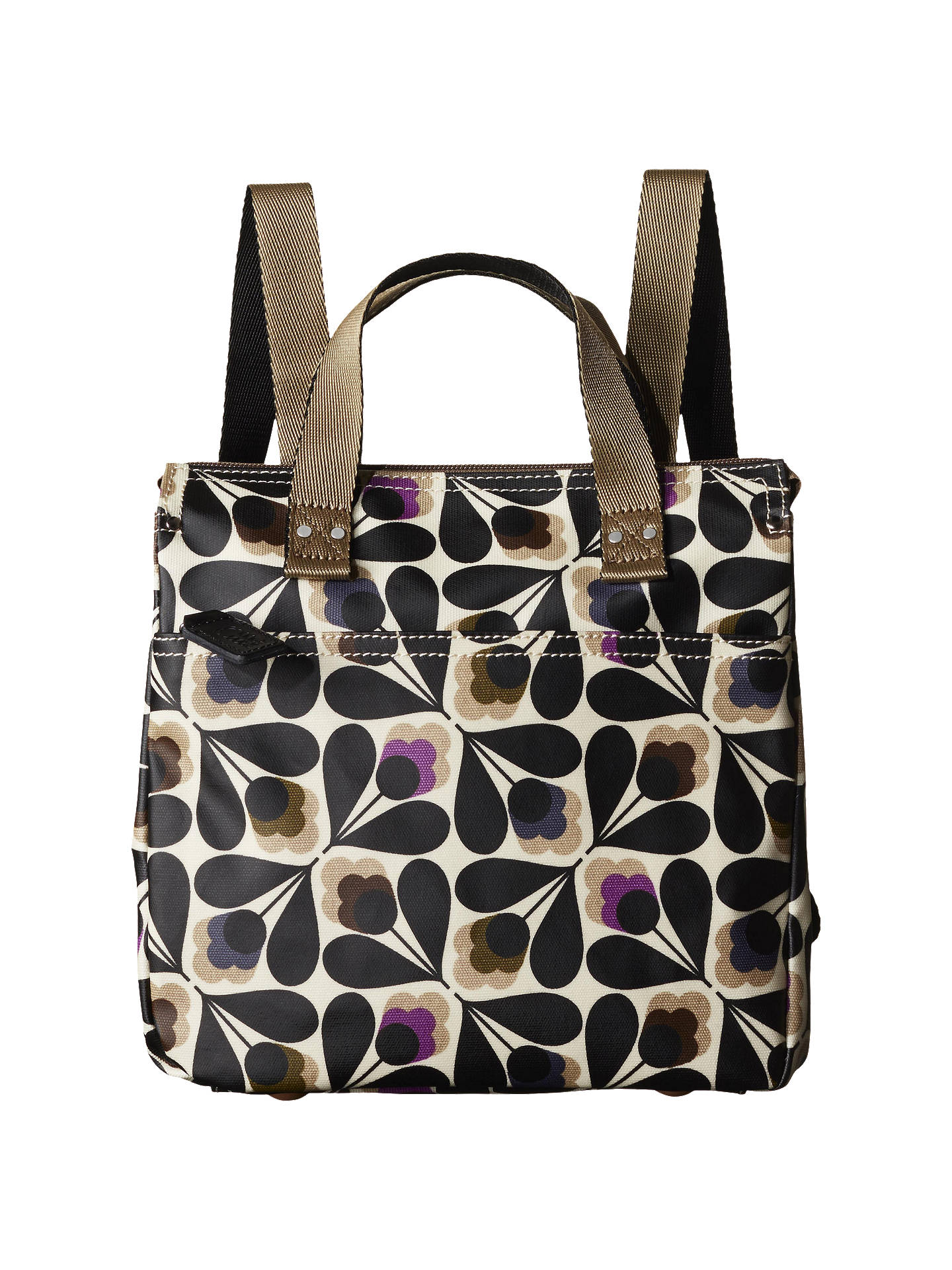 b37baed403 Buy Orla Kiely Matte Laminated Sycamore Seed Backpack