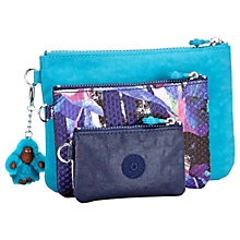 Buy Kipling Iaka Urban Trio Pouch, Flower Online at johnlewis.com