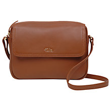 Buy Tula Nappa Originals Leather Small Flapover Cross Body Bag Online at johnlewis.com