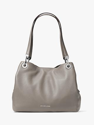 7fbeabac2f MICHAEL Michael Kors Raven Leather Large Shoulder Bag