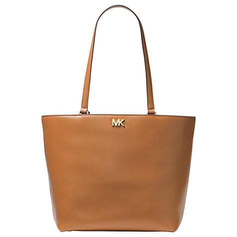 d9f831c179dad6 Buy MICHAEL Michael Kors Mott Leather Medium Tote Bag Online at johnlewis.