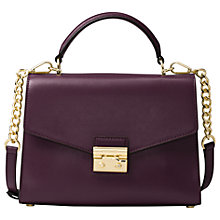 Buy MICHAEL Michael Kors Sloan Leather Satchel Bag Online at johnlewis.com