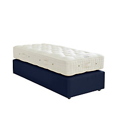 Buy Vispring Axminster Superb Divan Base and Mattress Set, FSC-Certified (Spruce, Redwood, Beech), Medium, Single Online at johnlewis.com