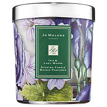 Buy Jo Malone London Iris & Lady Moore Scented Candle, 200g Online at johnlewis.com