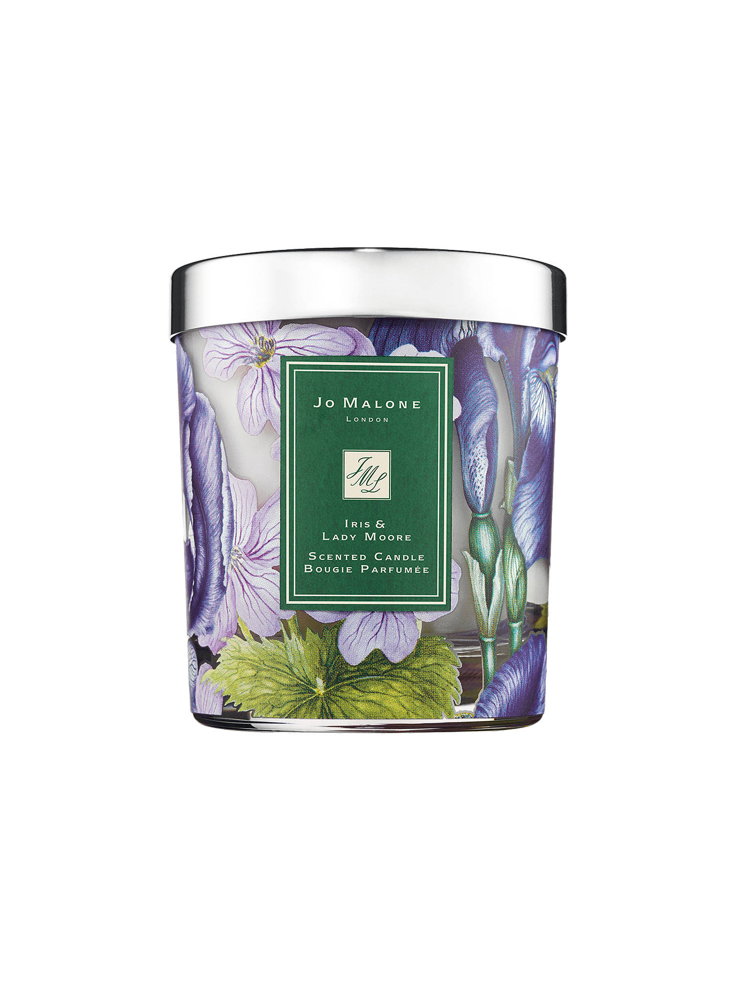 Jo Malone London Iris & Lady Moore Scented Candle, 200g at John ...