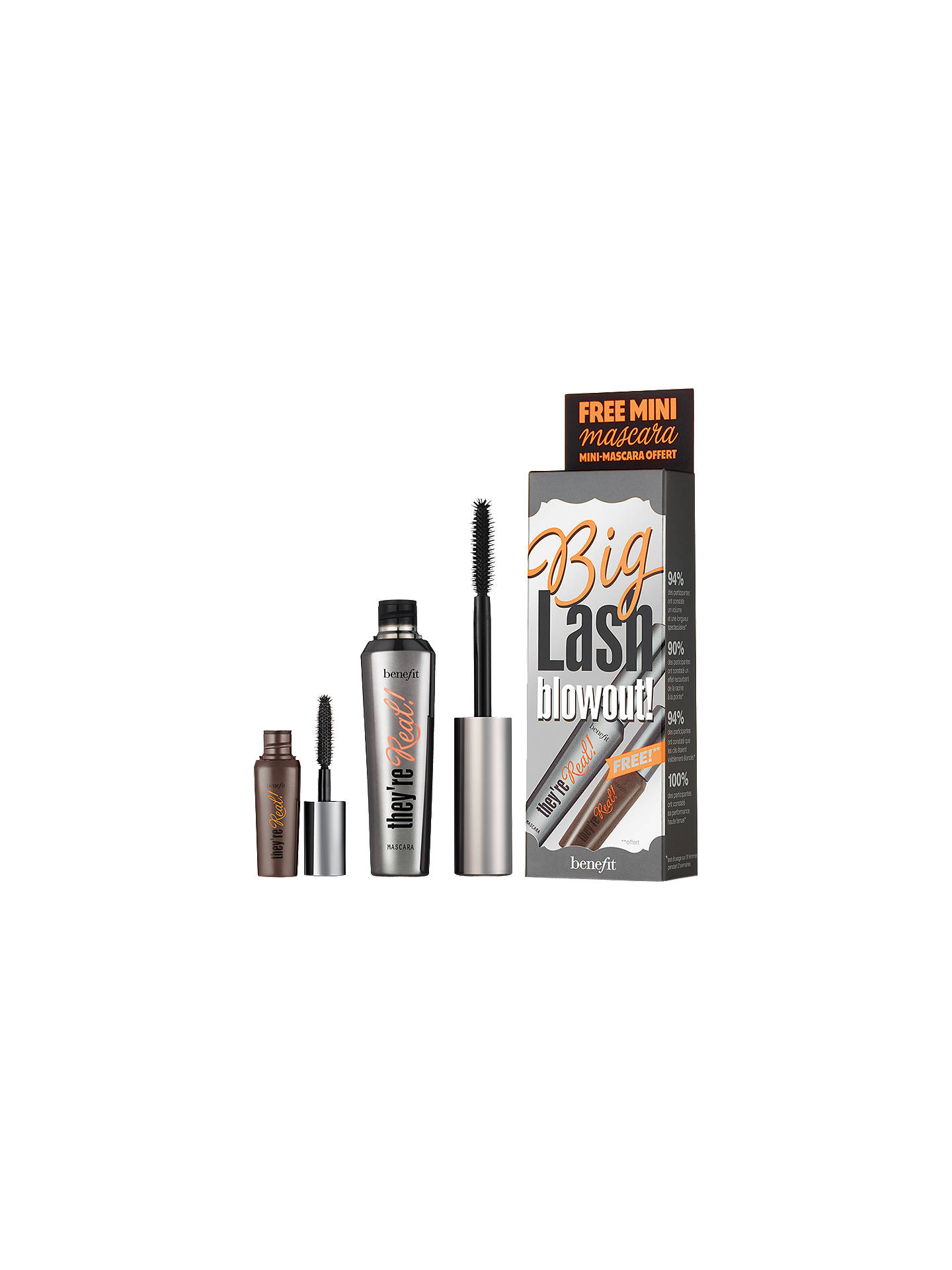 c9bc7cc0c91 Benefit They're Real! Big Lash Blowout Mascara Set at John Lewis ...