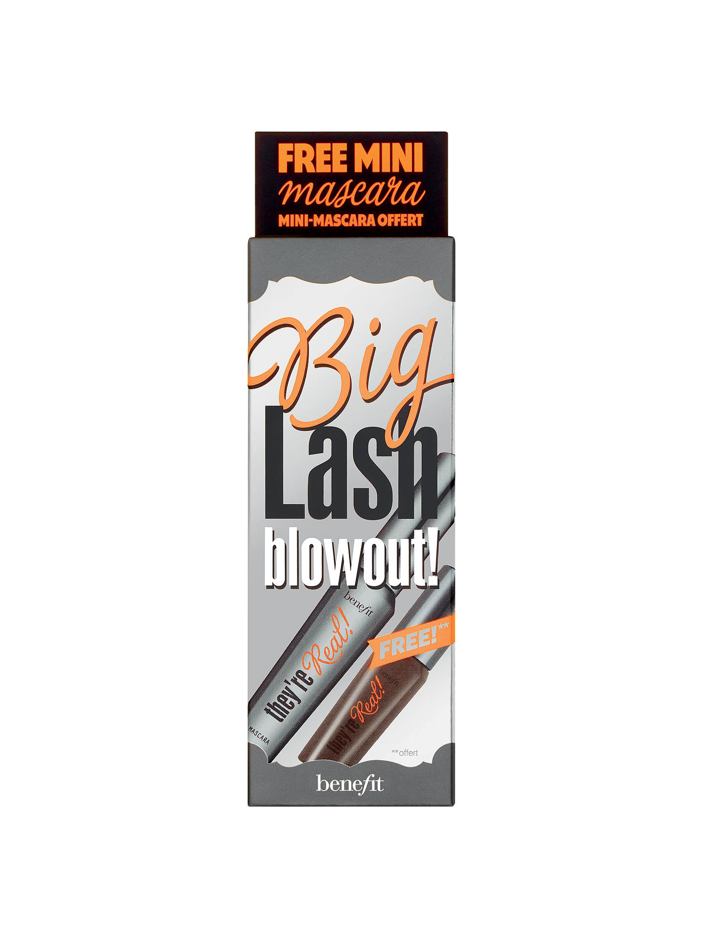 7eb977bf517 Buy Benefit They're Real! Big Lash Blowout Mascara Set Online at johnlewis.